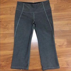 Lululemon Crop Slit Back Yoga Pants